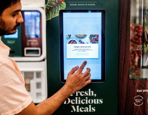 Robot vending machines